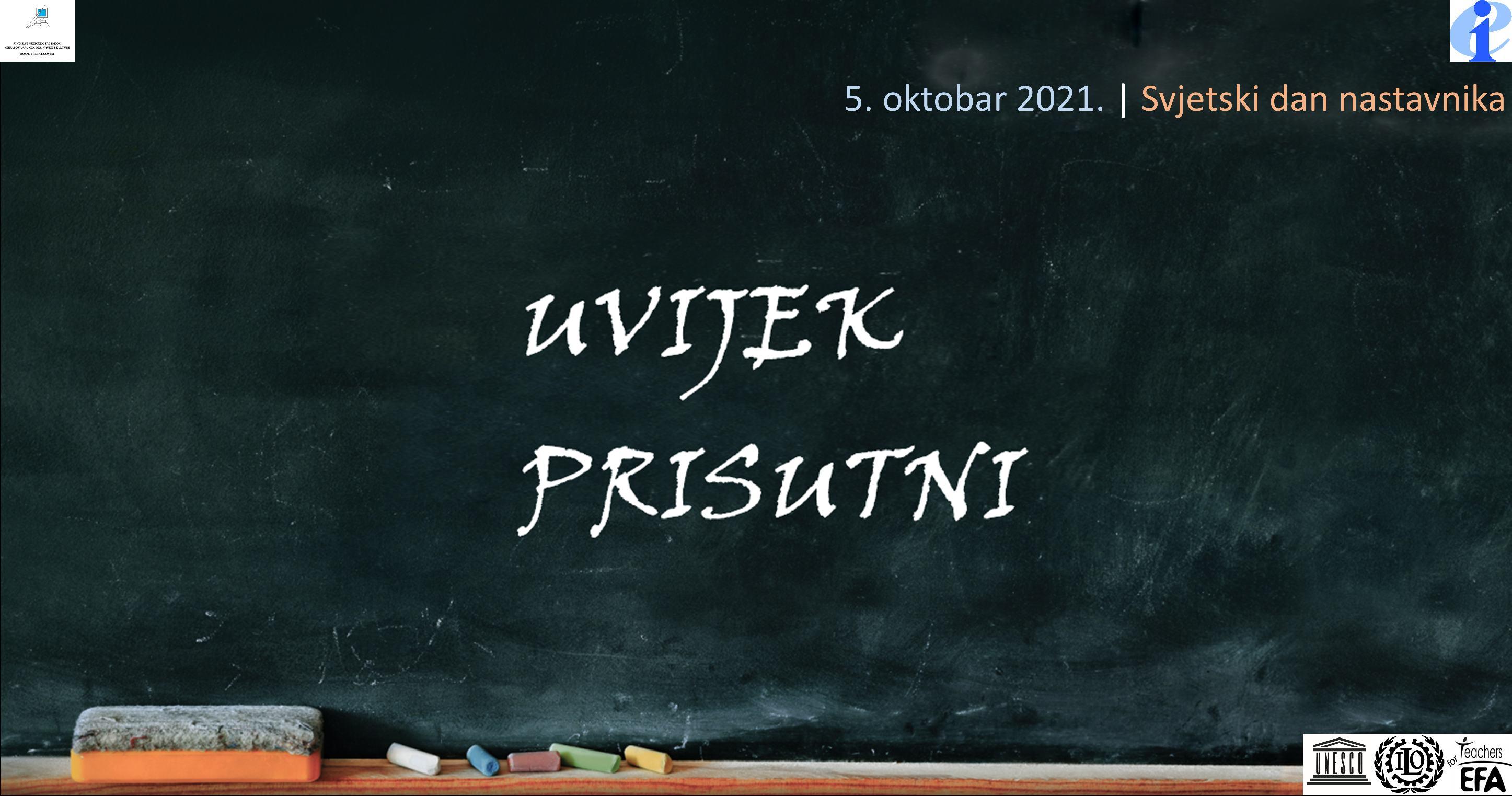 Skupština SSVOONKBiH povodom 5. oktobra – Svjetskog dana nastavnika